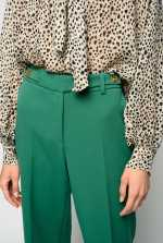 Seventies trousers in heavy crepe