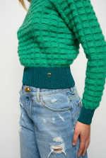 Alpaca-blend pullover
