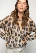 Pullover in spotted tricot