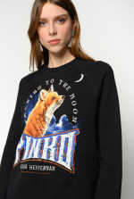 Pull jacquard « Talking To The Moon »