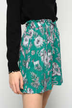 Jungle-print shorts