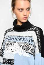Norwegian maxi pullover