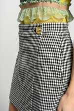 维希格迷你半身裙效果短裤