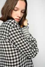 Vichy shirtwaister dress