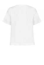 Flower-logo T-shirt