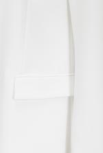 Long single-breasted blazer