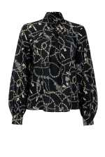 Jewel print blouse