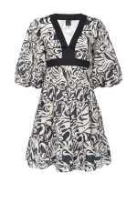 Japan print dress