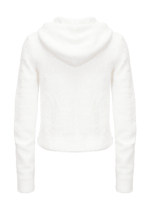Soft tricot sweatshirt