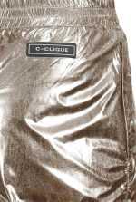 Pantalon de jogging en tissu technique lamé