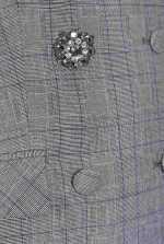Woven wool coat dress