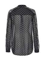 Shirt with polka dot print