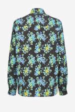 花卉双绉衬衫