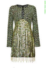Re-Glam dress with sequins