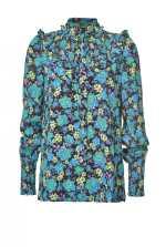 花卉印花罩衫