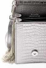 Smart Bag Metal Fringes in leather
