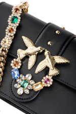 Mini Love Bag Jewels in leather