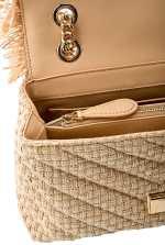 Love Bag Puff in raffia