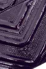 Flat Logo Bag Polish in patent leather