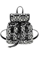 Mini Backpack Monogram jacquard