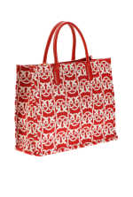 Love Bag Shopping Monogram en jacquard