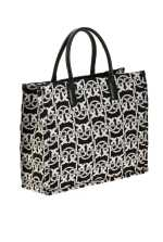 Love Bag Shopping Monogram in jacquard