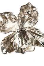 水晶装饰兰花饰针