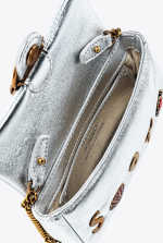 Tiny Love Bag Summer Pins metallic