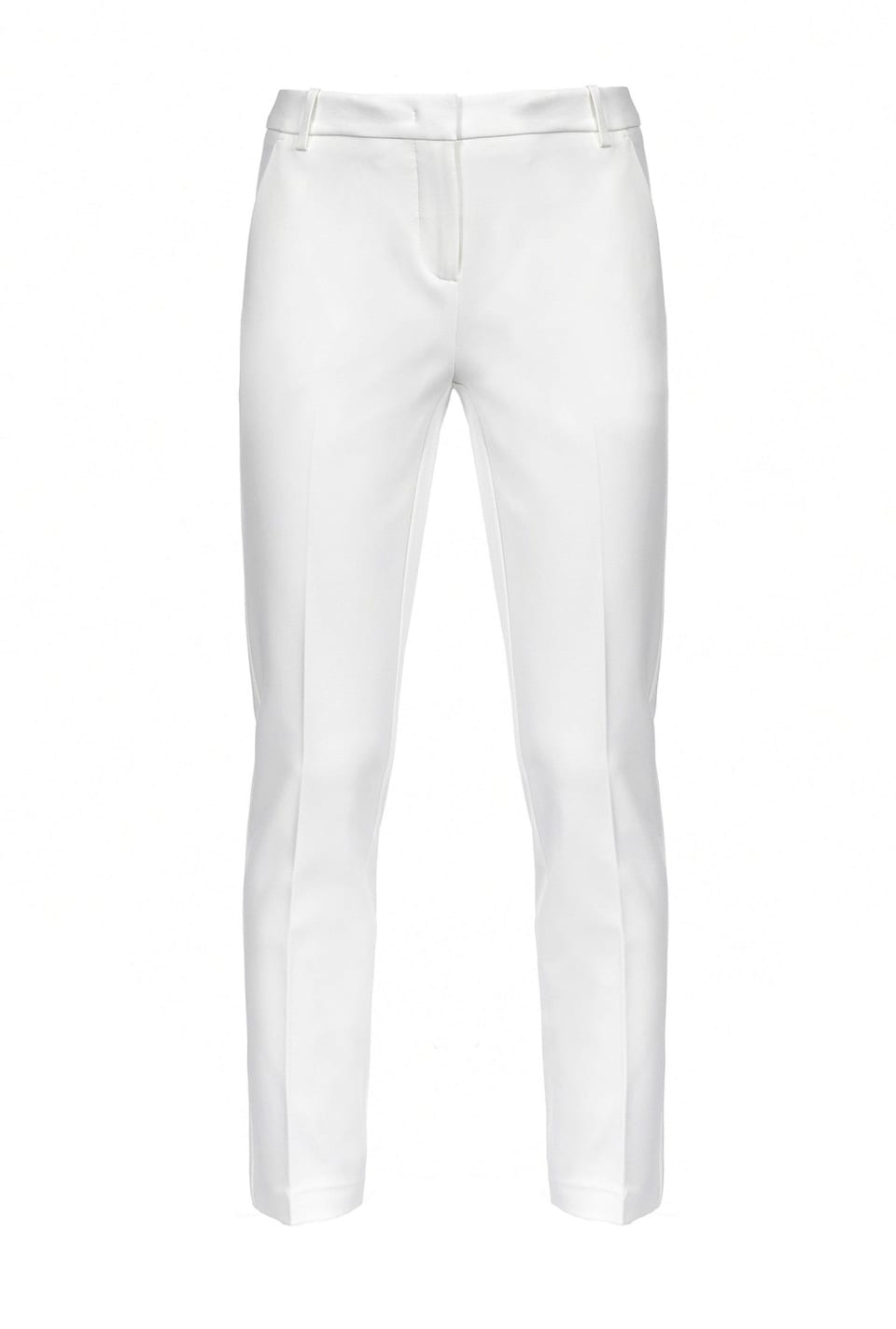 Cigarette fit technical Milano stitch trousers - Pinko