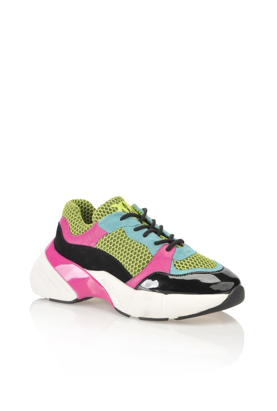 Shoes To Rock technical mesh and suede sneakers