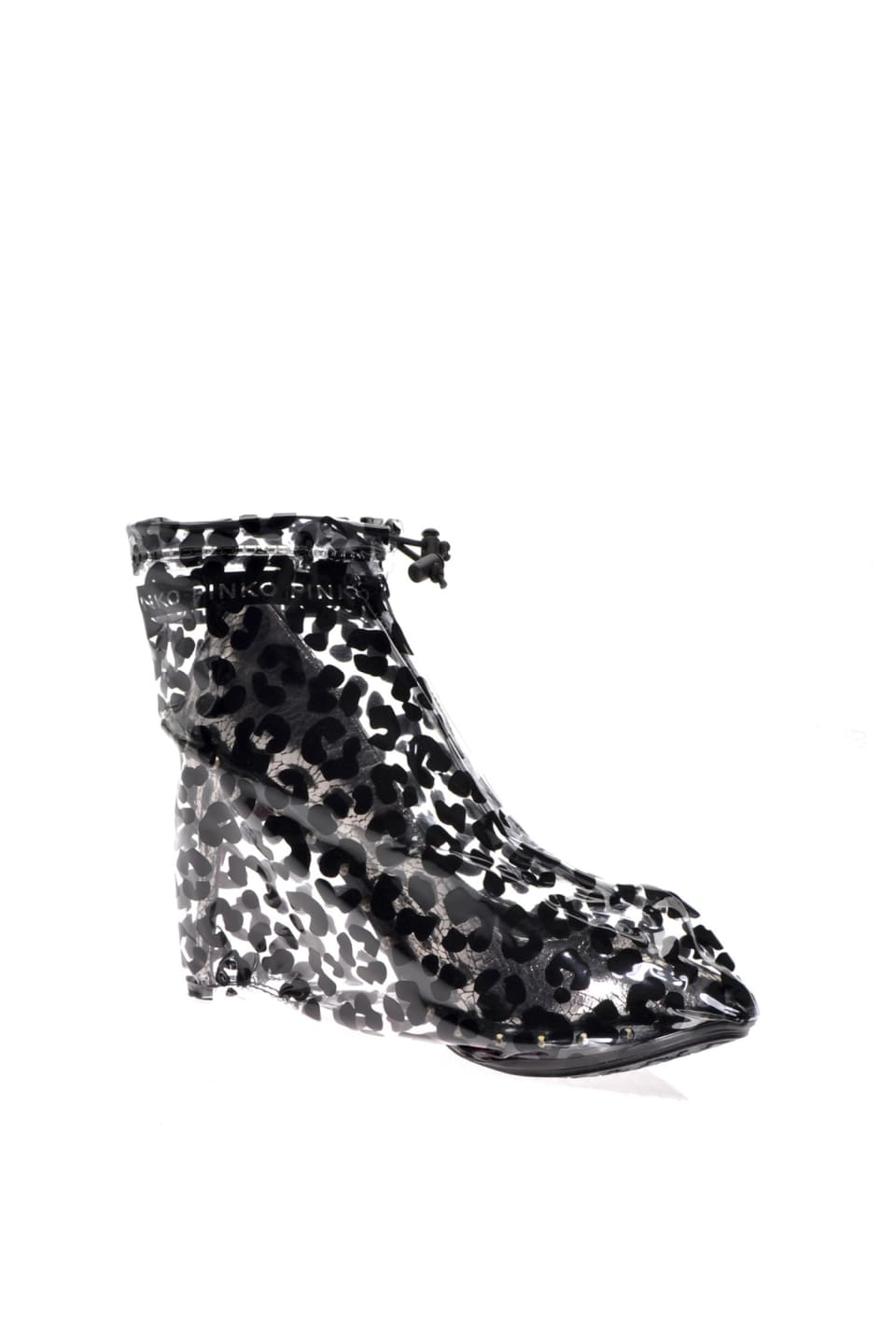 Leopard-print Cover Shoes