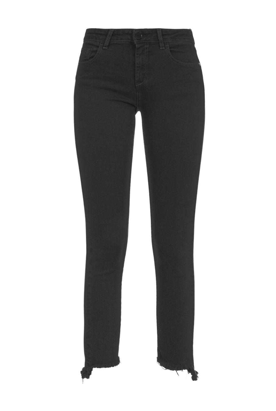 Skinny jeans in black reform denim
