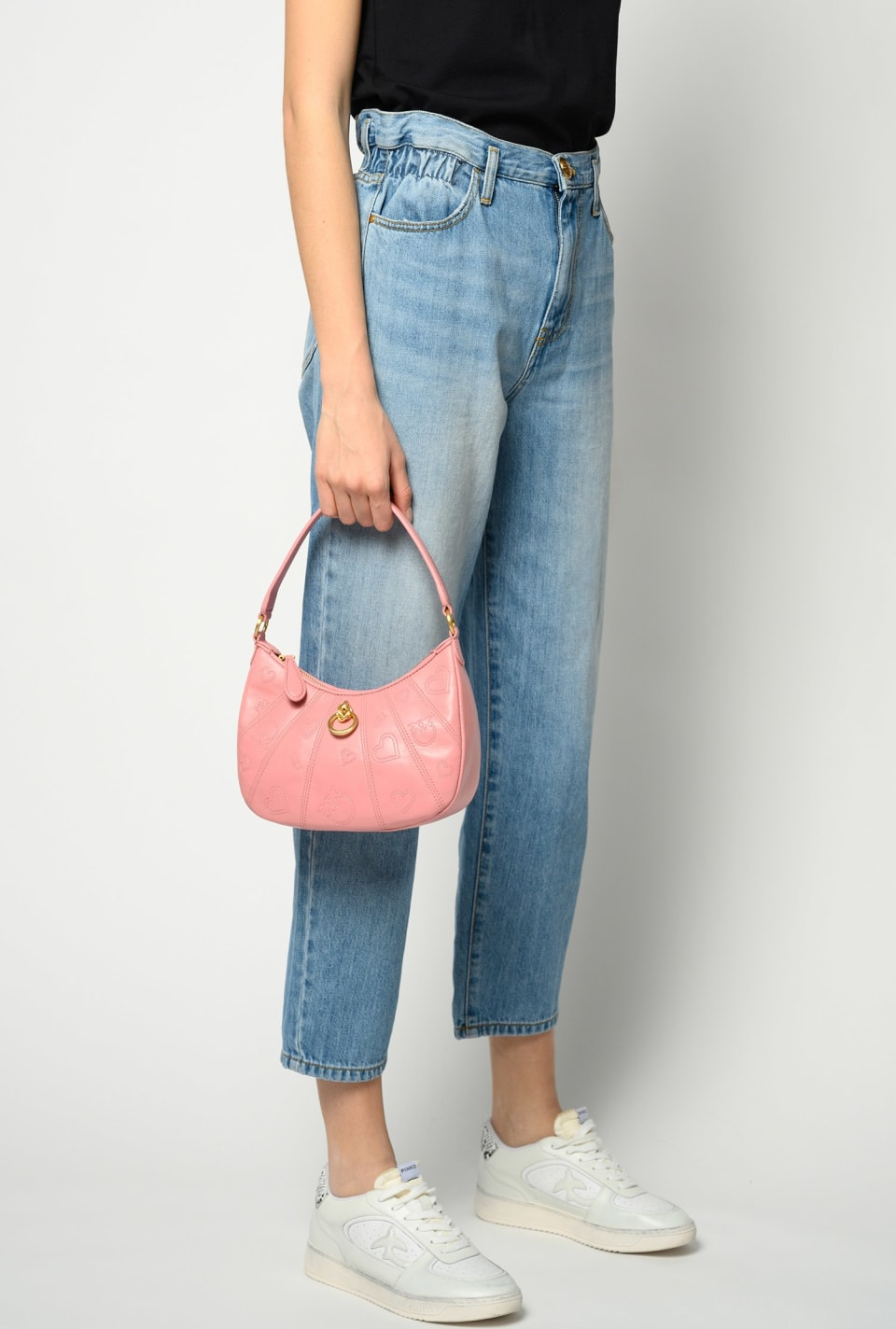Mini Lovelink Bag Half Moon PINKO Love - Pinko