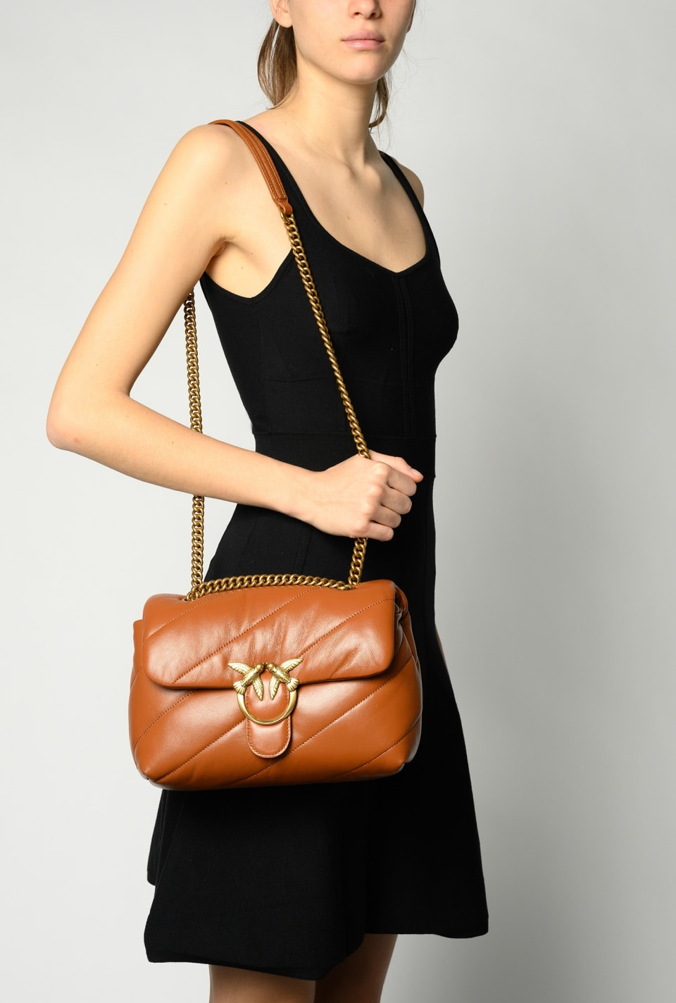 Classic Love Bag Puff Maxi Quilt - Pinko
