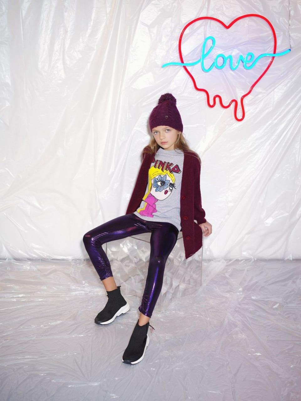 Blond Girl プリントTシャツ