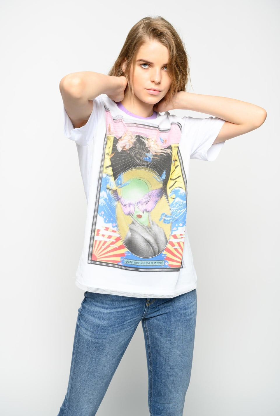 T-shirt con stampa Ultra Pop