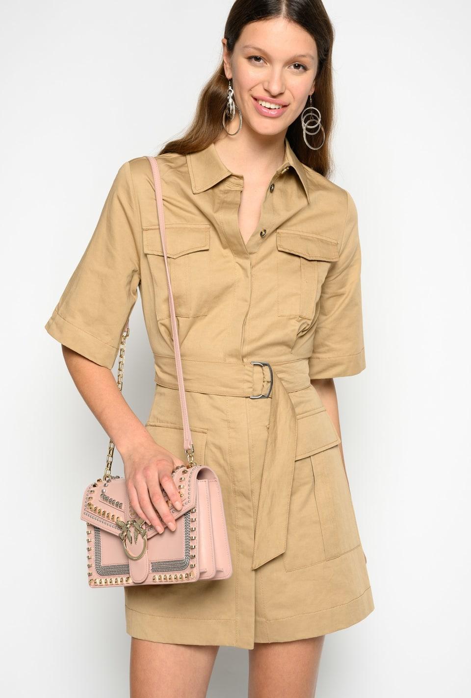 Vestido estilo safari