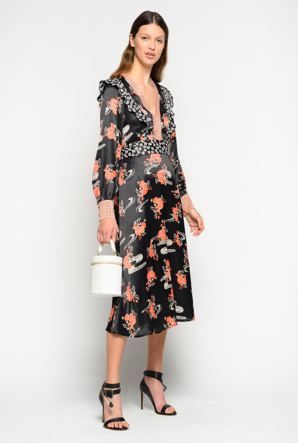 Japan floral print dress