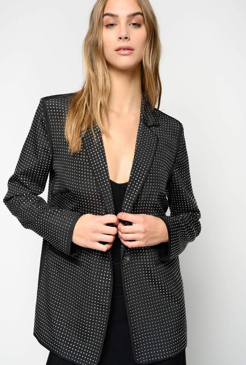 Full rhinestone blazer