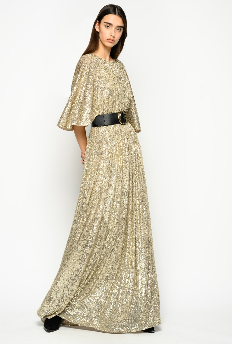 Full-sequin maxi dress