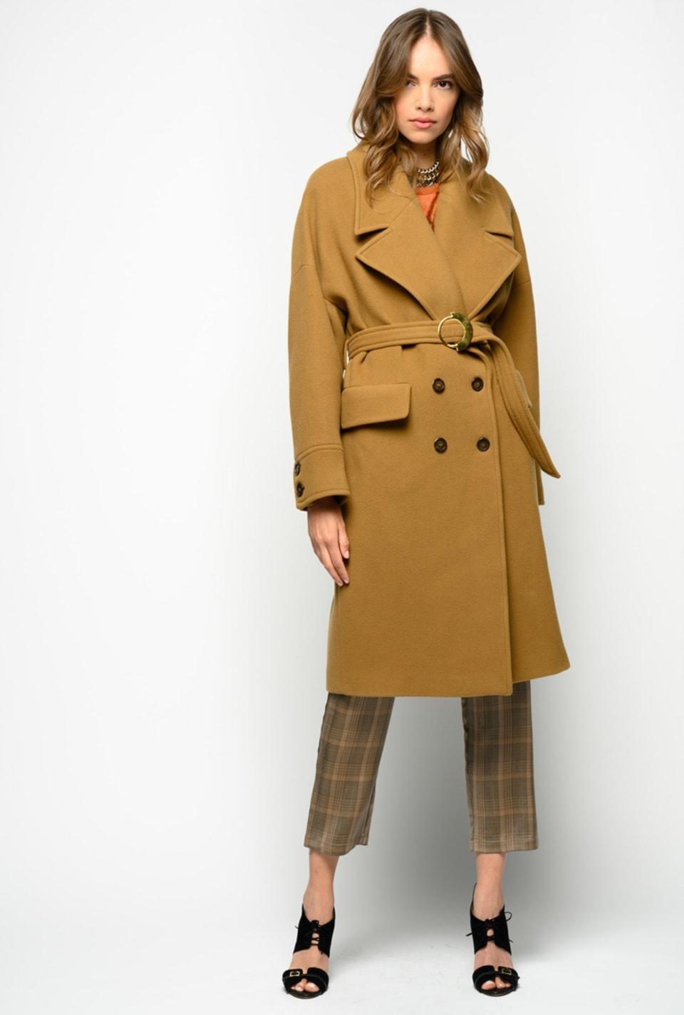 Vintage-Mantel aus Tuch - Pinko