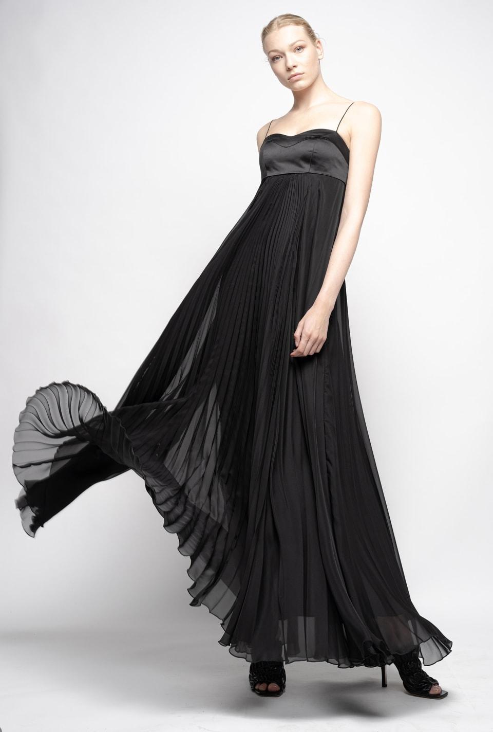 Long chiffon dress - Pinko