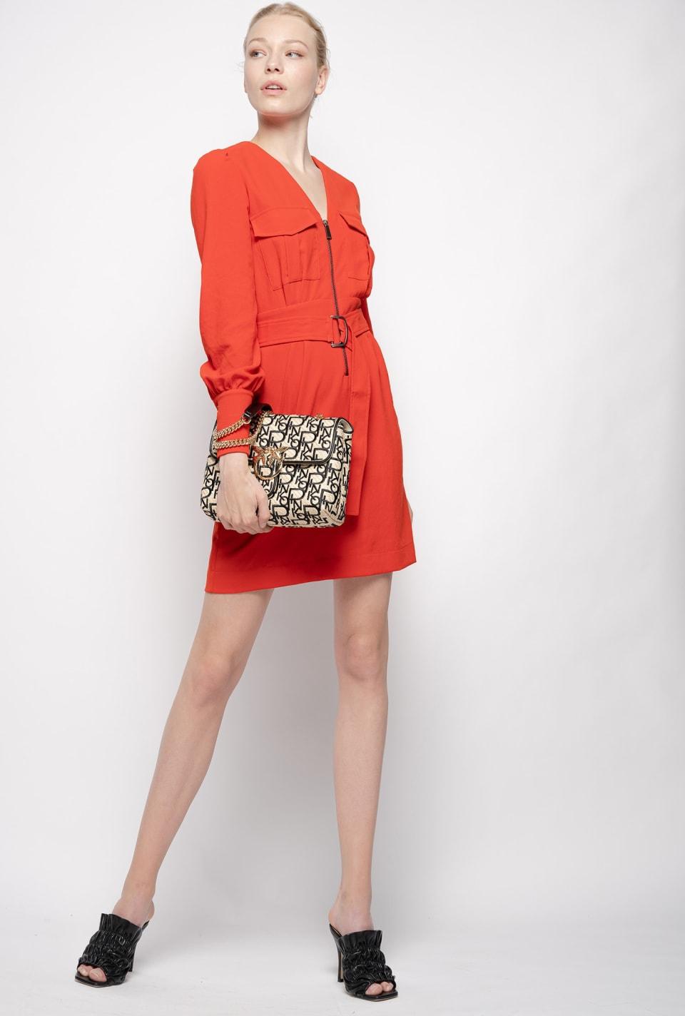 Robe style utilitaire - Pinko