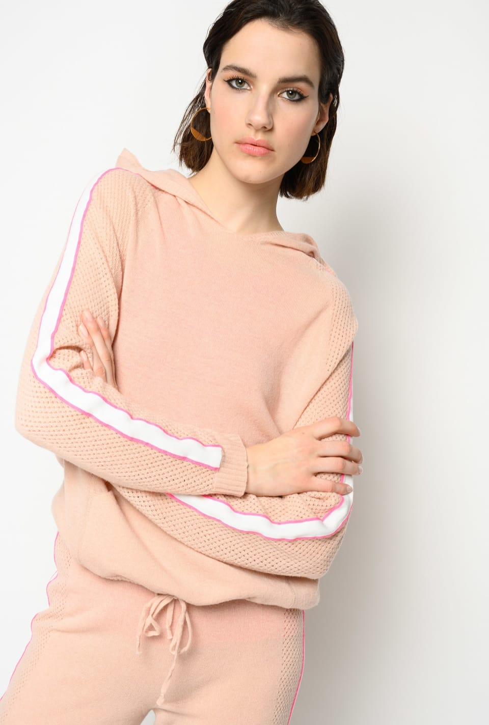 Wool and cashmere sweatshirt