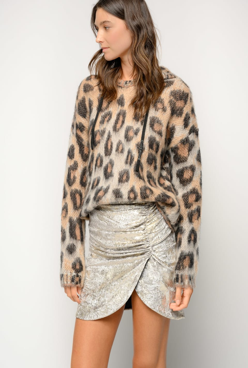 Pullover in spotted tricot - Pinko