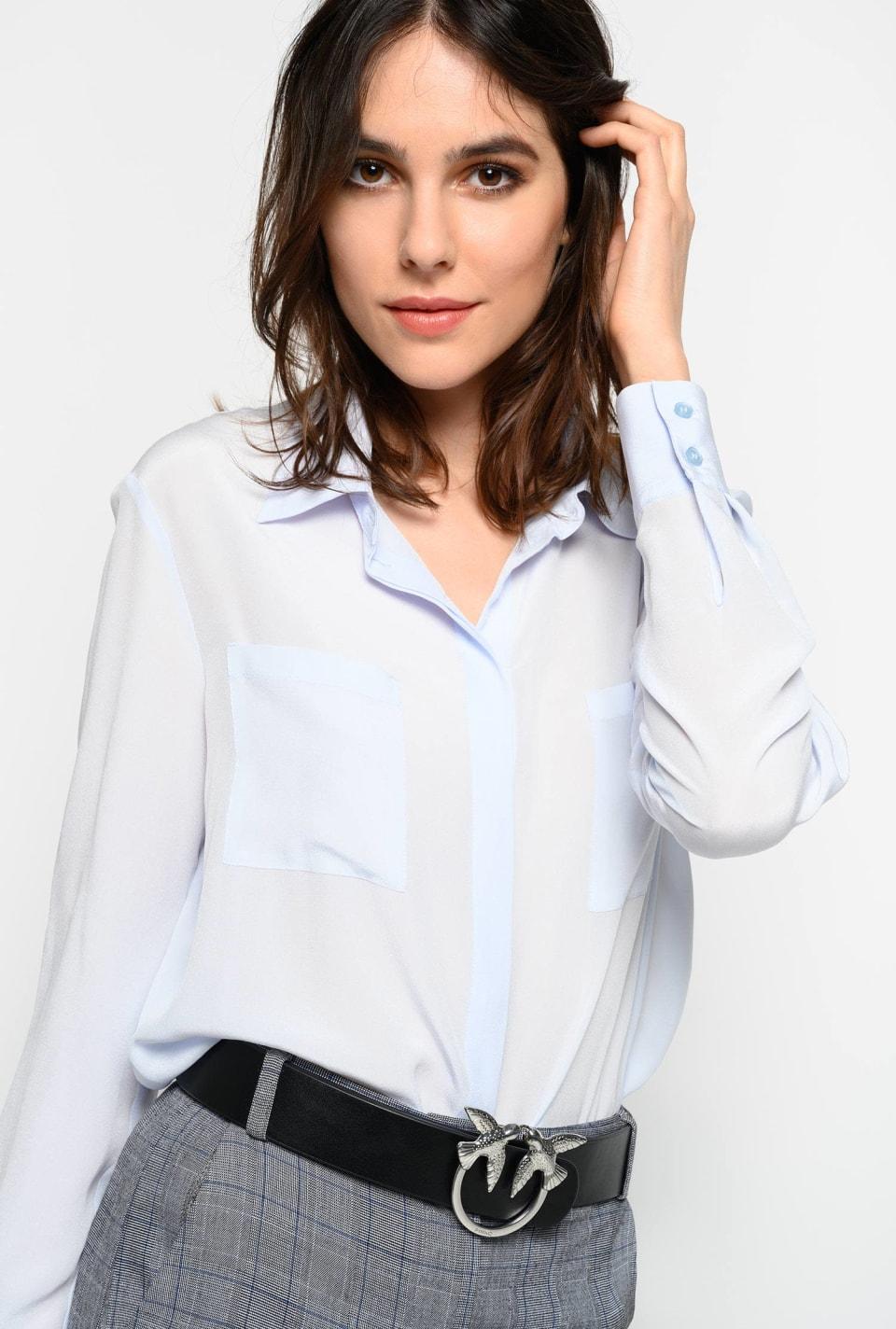 Camisa de seda