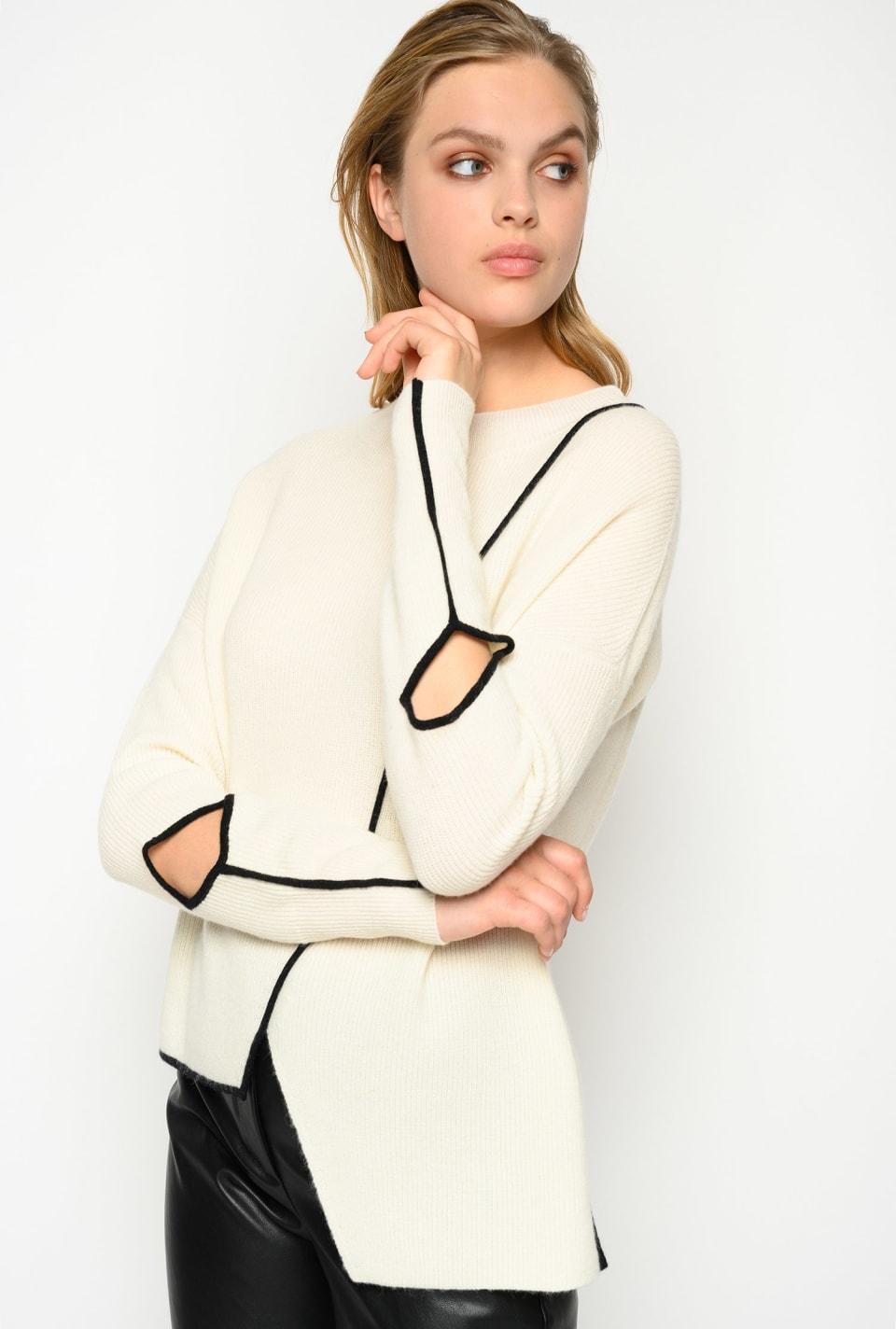 Pullover asimmetrico