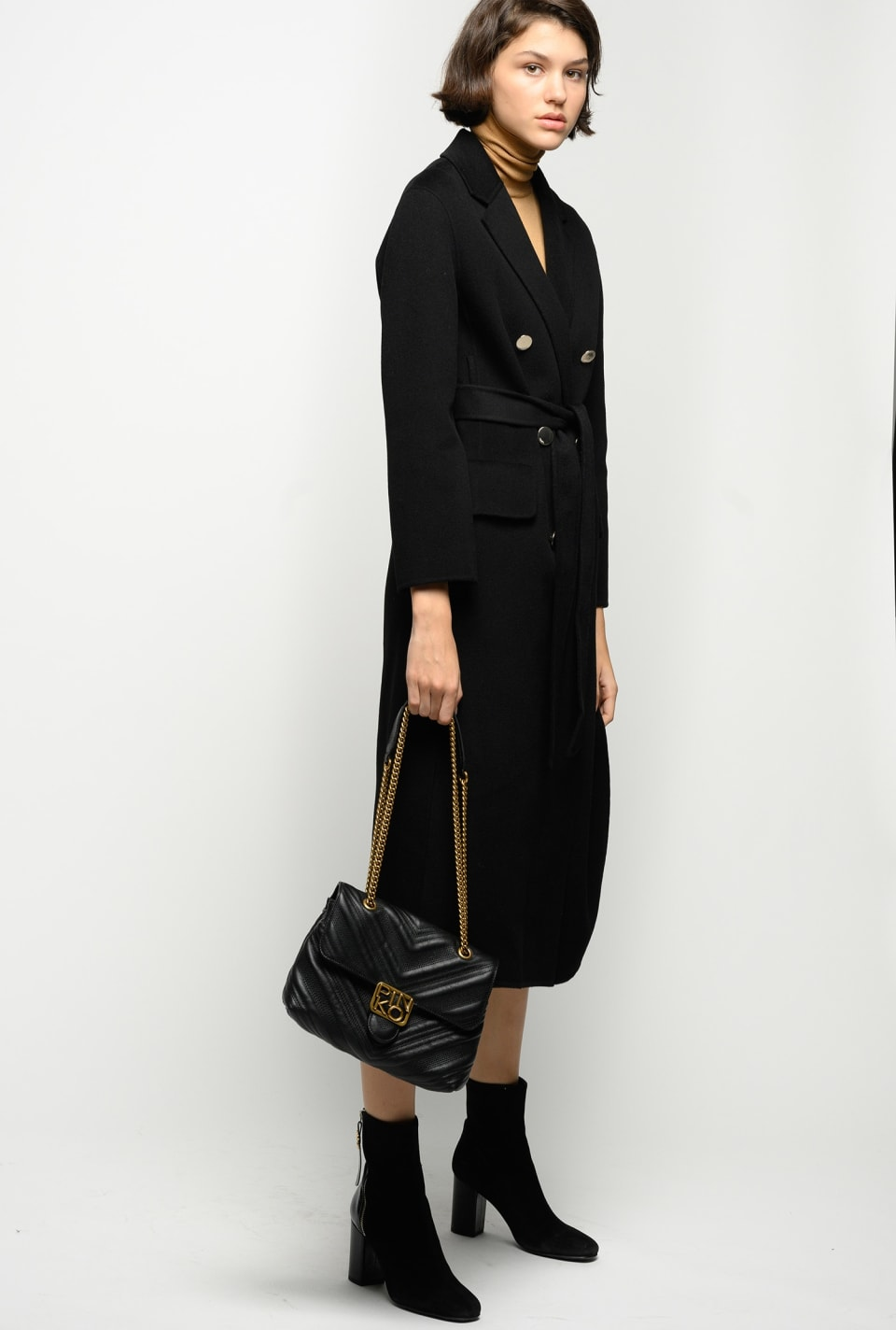 Long double-layer coat - Pinko