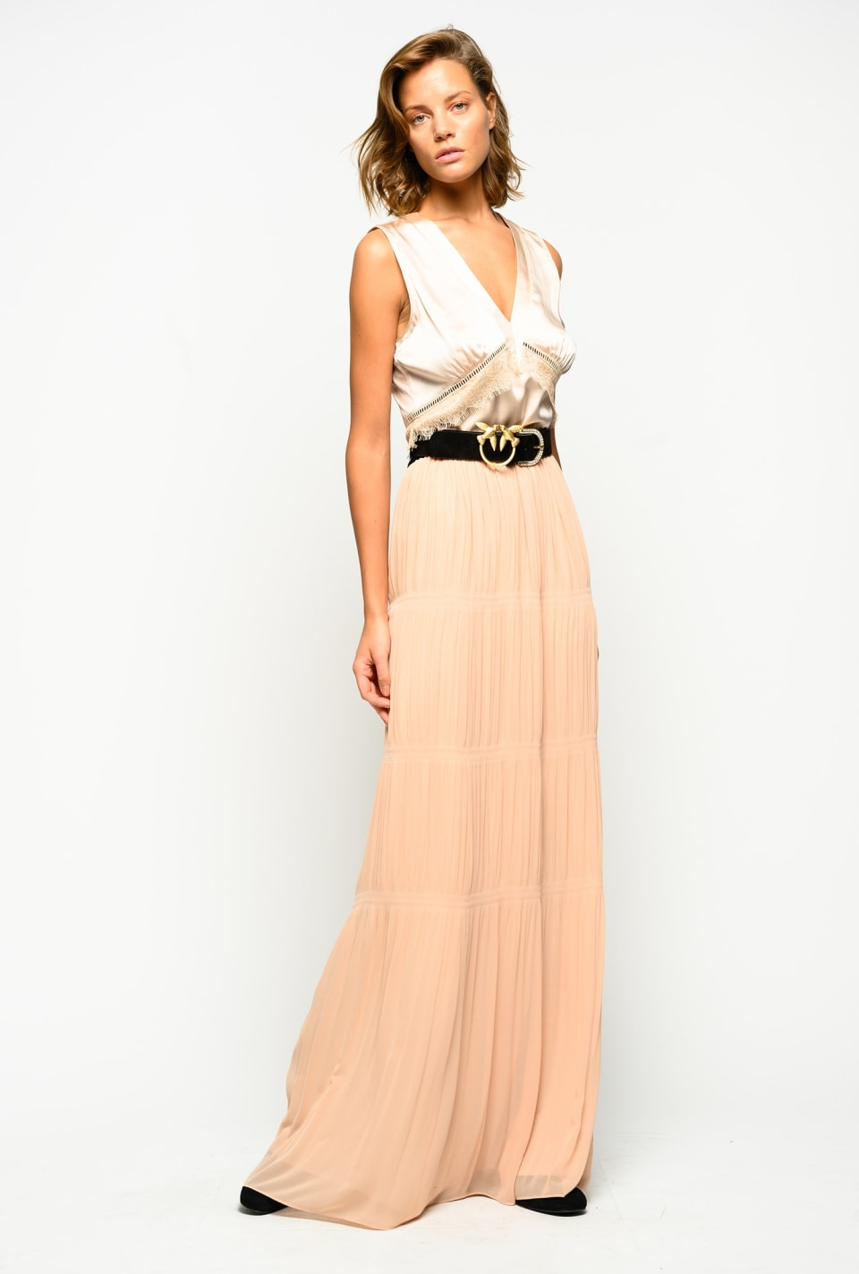 Long pleated skirt - Pinko