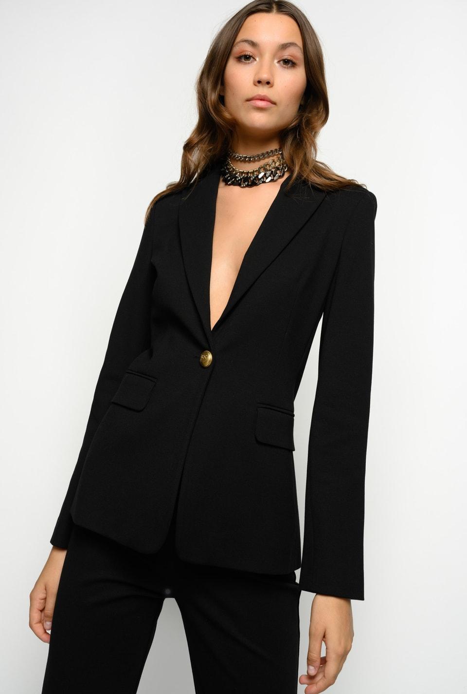 Milano stitch blazer - Pinko